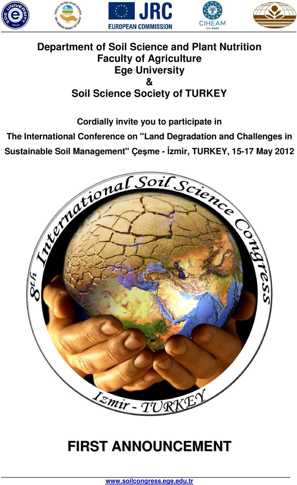 "participate in The International Conference on ""Land Degradation and"