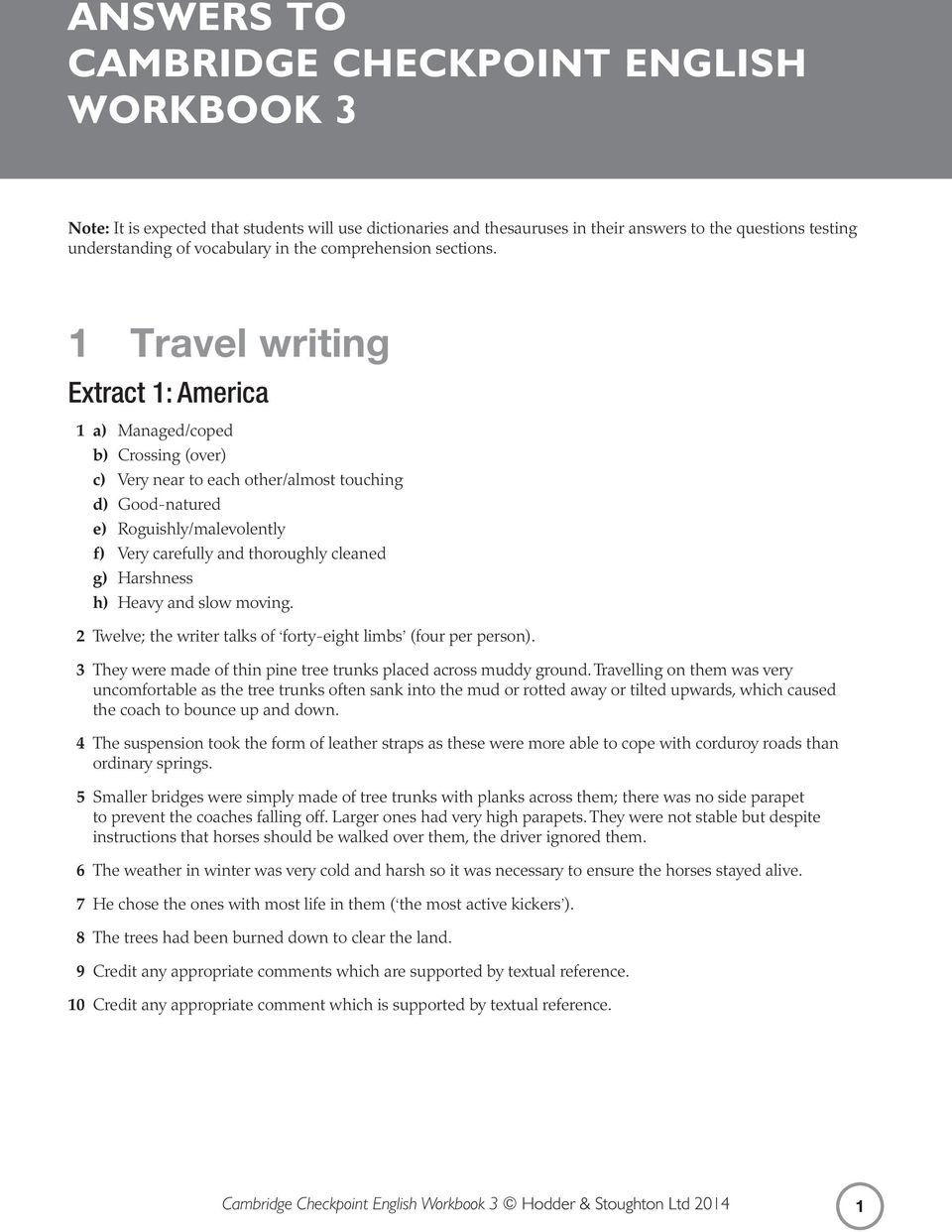 2012 sample english checkpoint paper service
