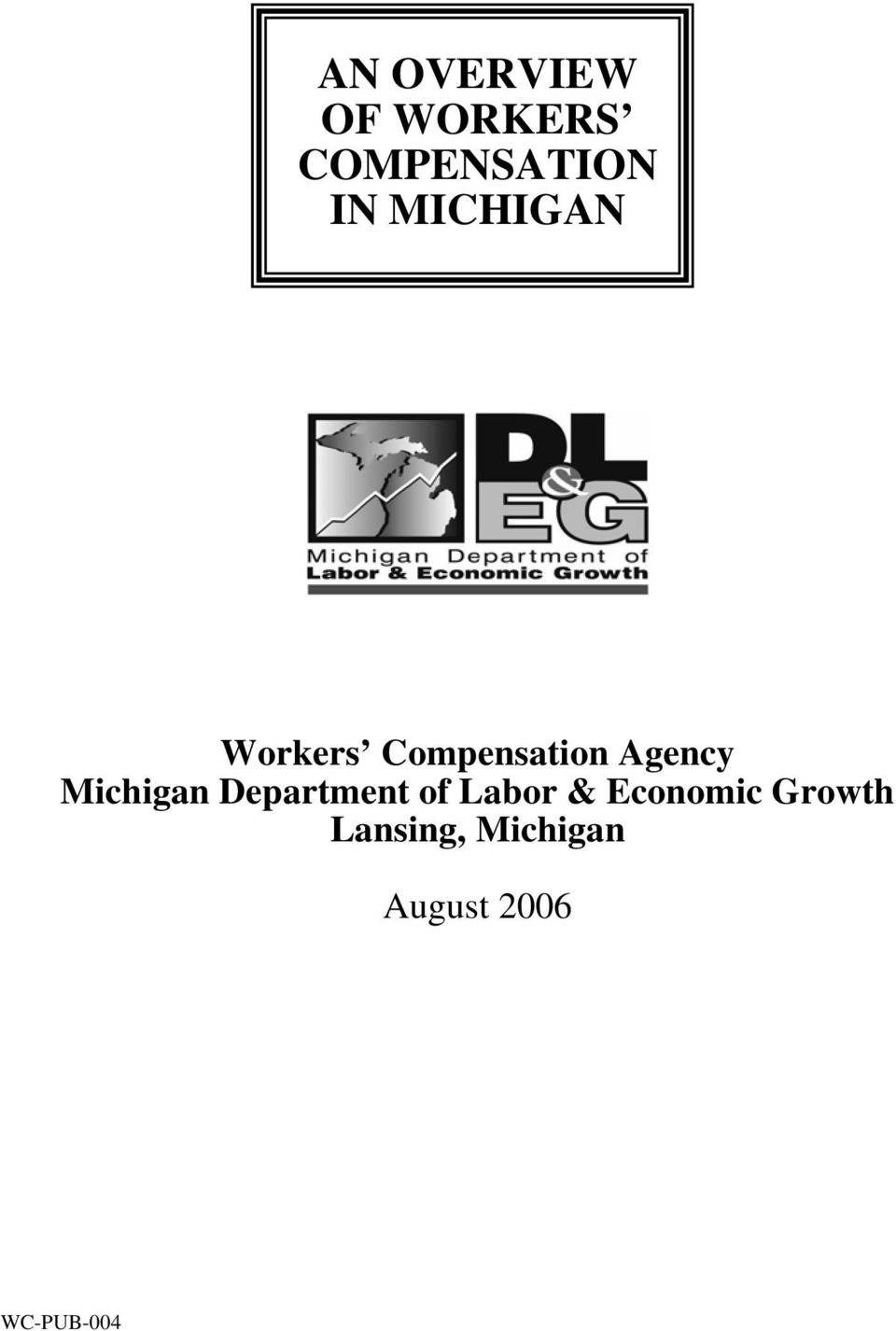 Michigan Department of Labor & Economic