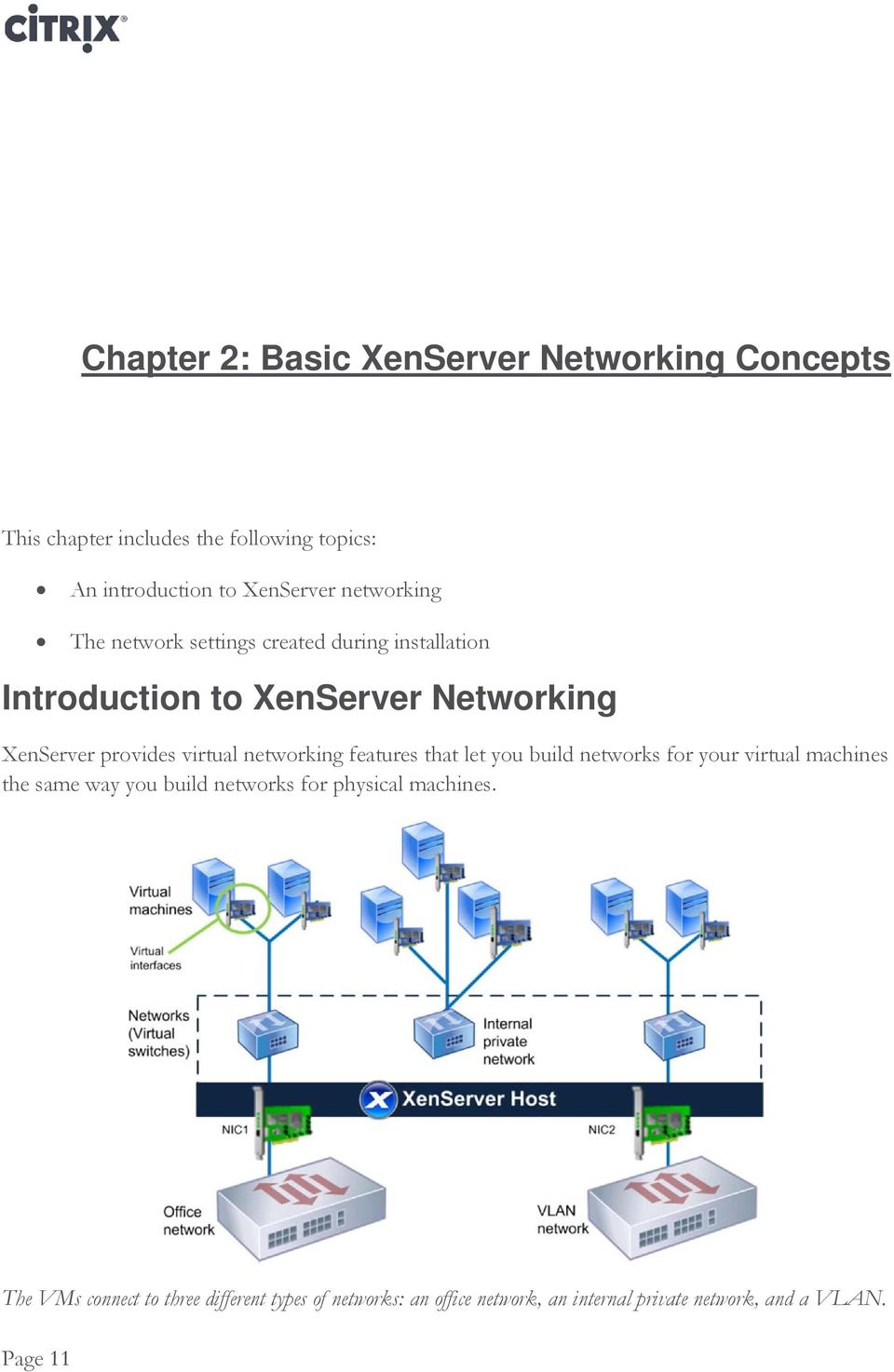 networking features that let you build networks for your virtual machines the same way you build networks for physical