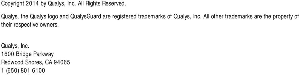 Qualys, Inc.