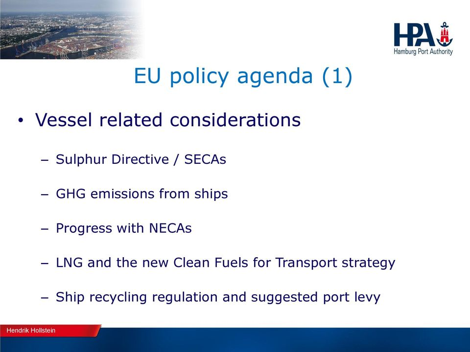 Progress with NECAs LNG and the new Clean Fuels for