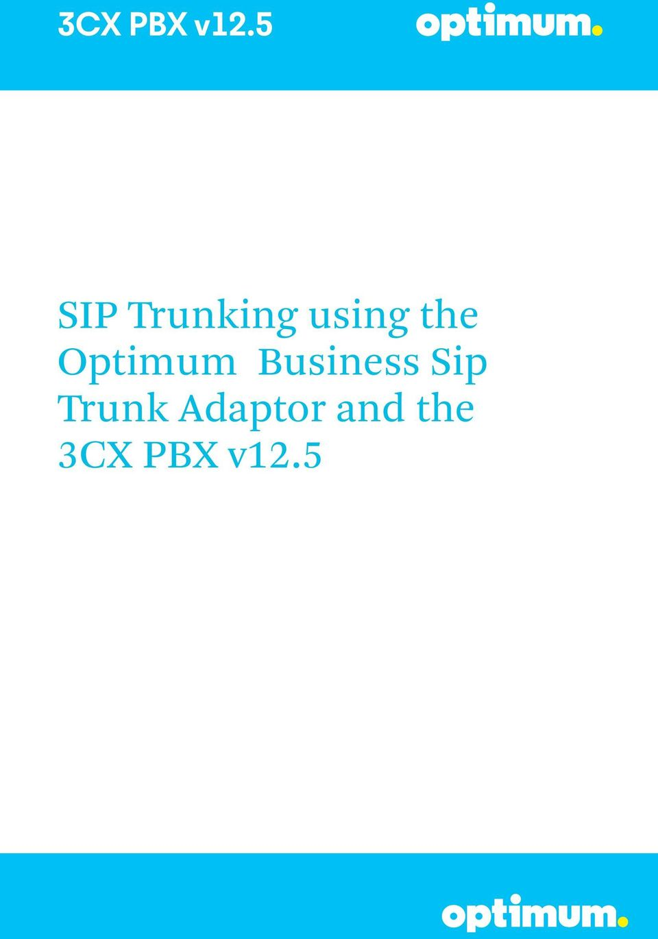 Business Sip Trunk
