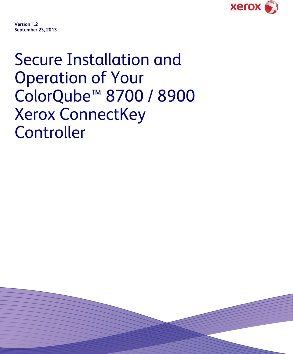 Installation and Operation of