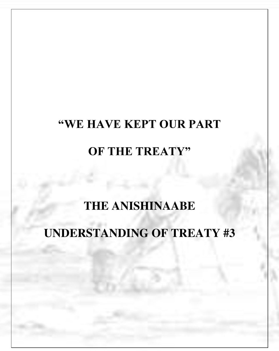 THE ANISHINAABE