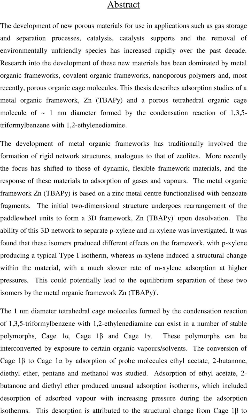 adsorption dye thesis Keywords: starch, methylene blue, adsorption, recovery, fermentation  the  solutions were filtered out and the dye-adsorbed  thesis, bangladesh.