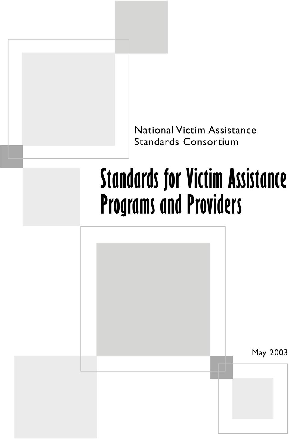 Standards for Victim