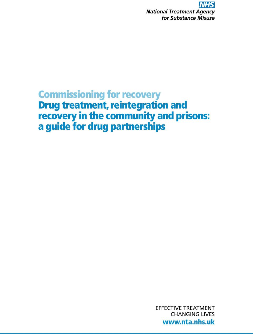 and prisons: a guide for drug partnerships