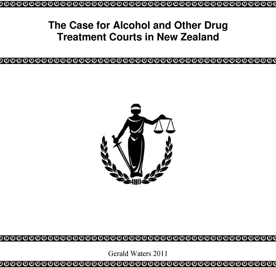 Treatment Courts in