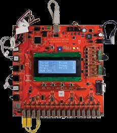 System Automation Process Control Unit (PCU) The PCU is an microcontoller-based, opensource sensing and control circuit board based on the Atmel AVR ATmega1280 processor.