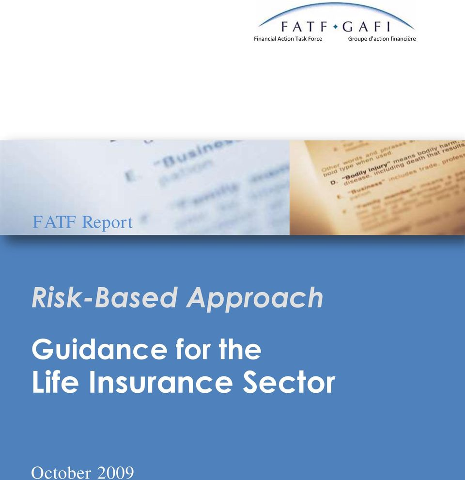 Risk-Based Approach Guidance for