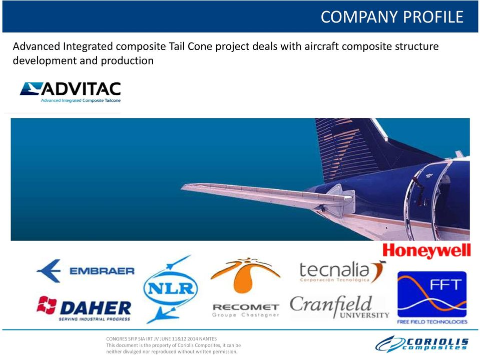 composite Tail Cone project deals with
