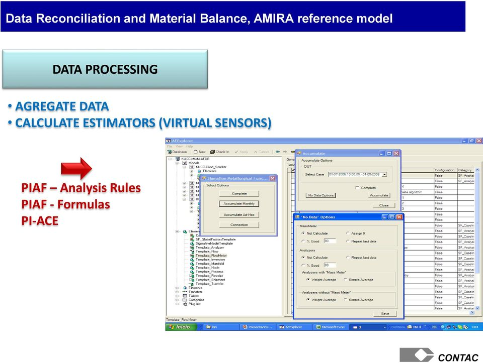 AGREGATE DATA CALCULATE ESTIMATORS (VIRTUAL