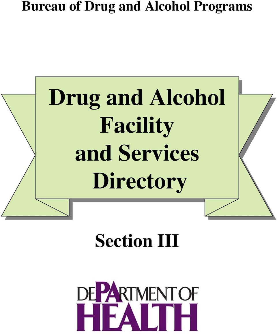 and Alcohol Facility