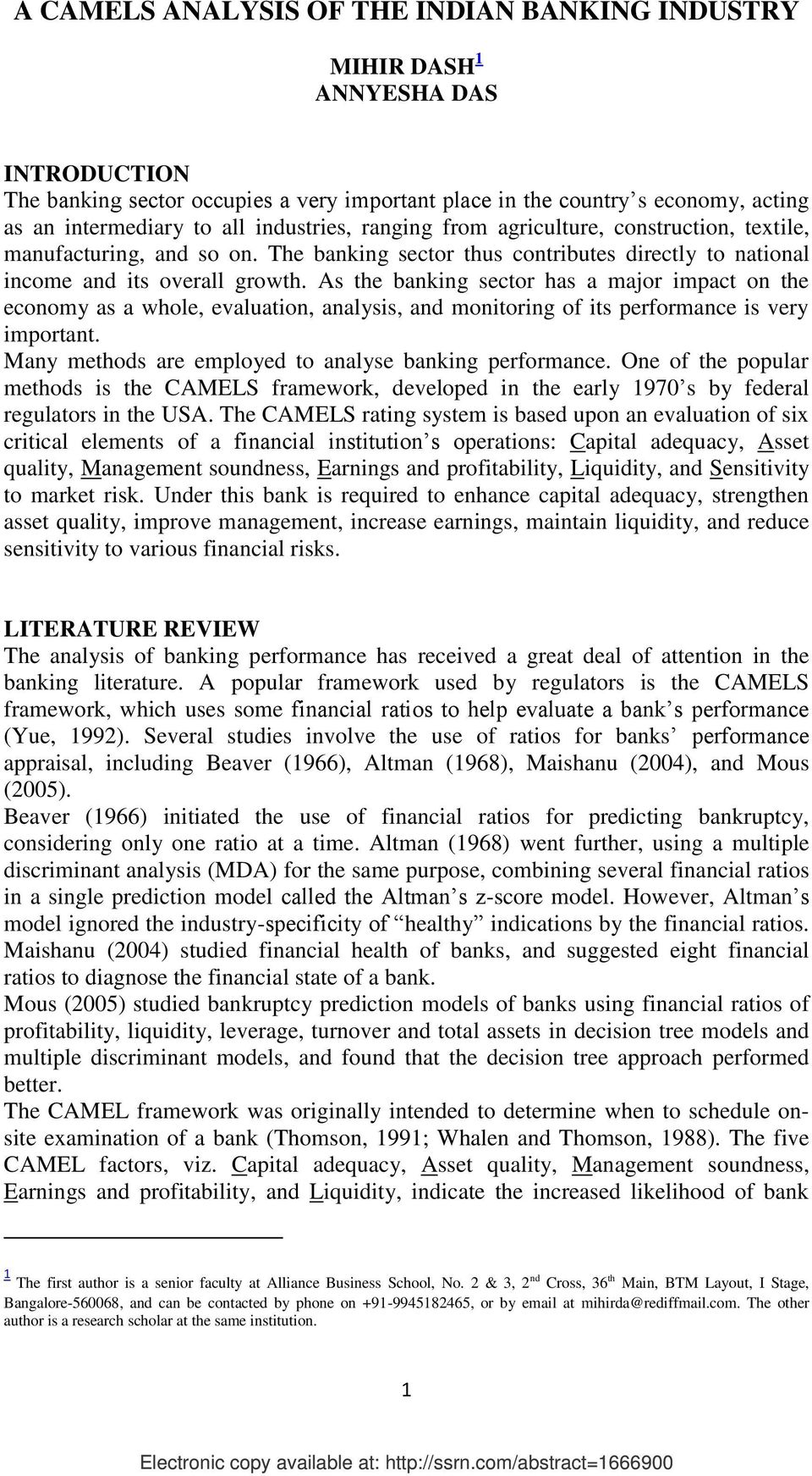review of literature on liquidity ratios