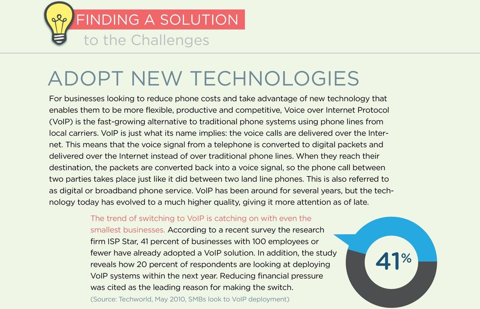 VoIP is just what its name implies: the voice calls are delivered over the Internet.