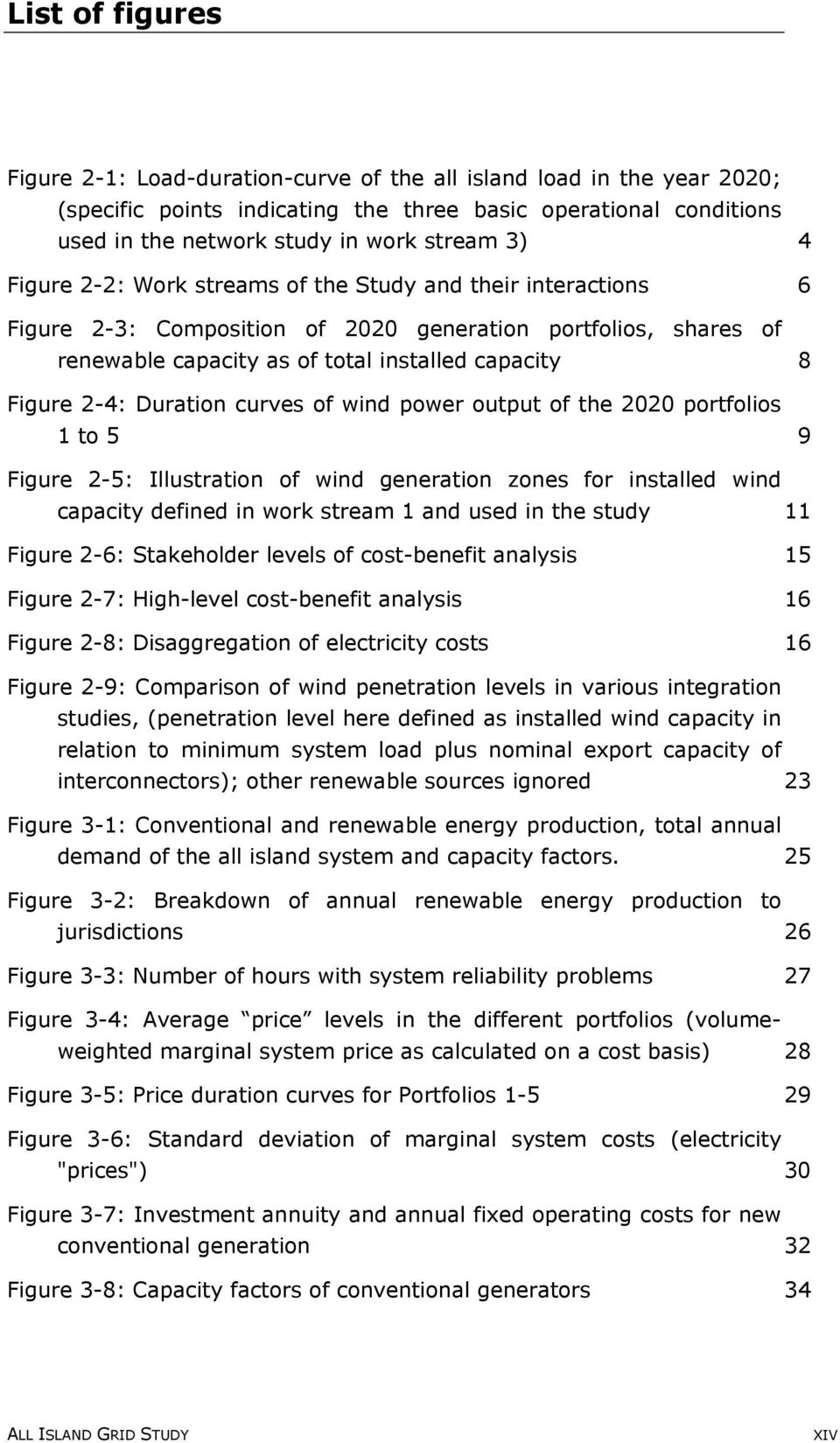 Duration curves of wind power output of the 2020 portfolios 1 to 5 9 Figure 2-5: Illustration of wind generation zones for installed wind capacity defined in work stream 1 and used in the study 11