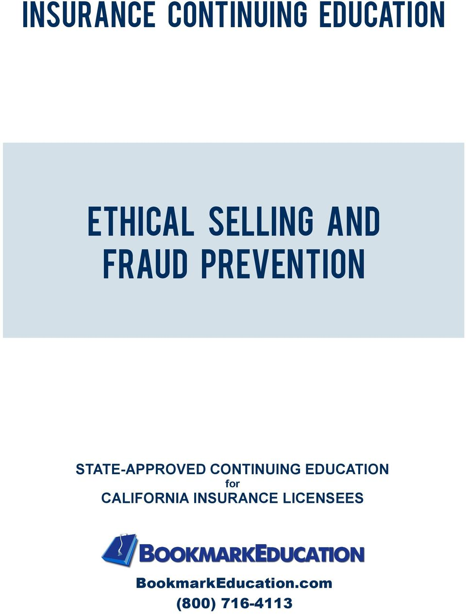 CONTINUING EDUCATION for CALIFORNIA