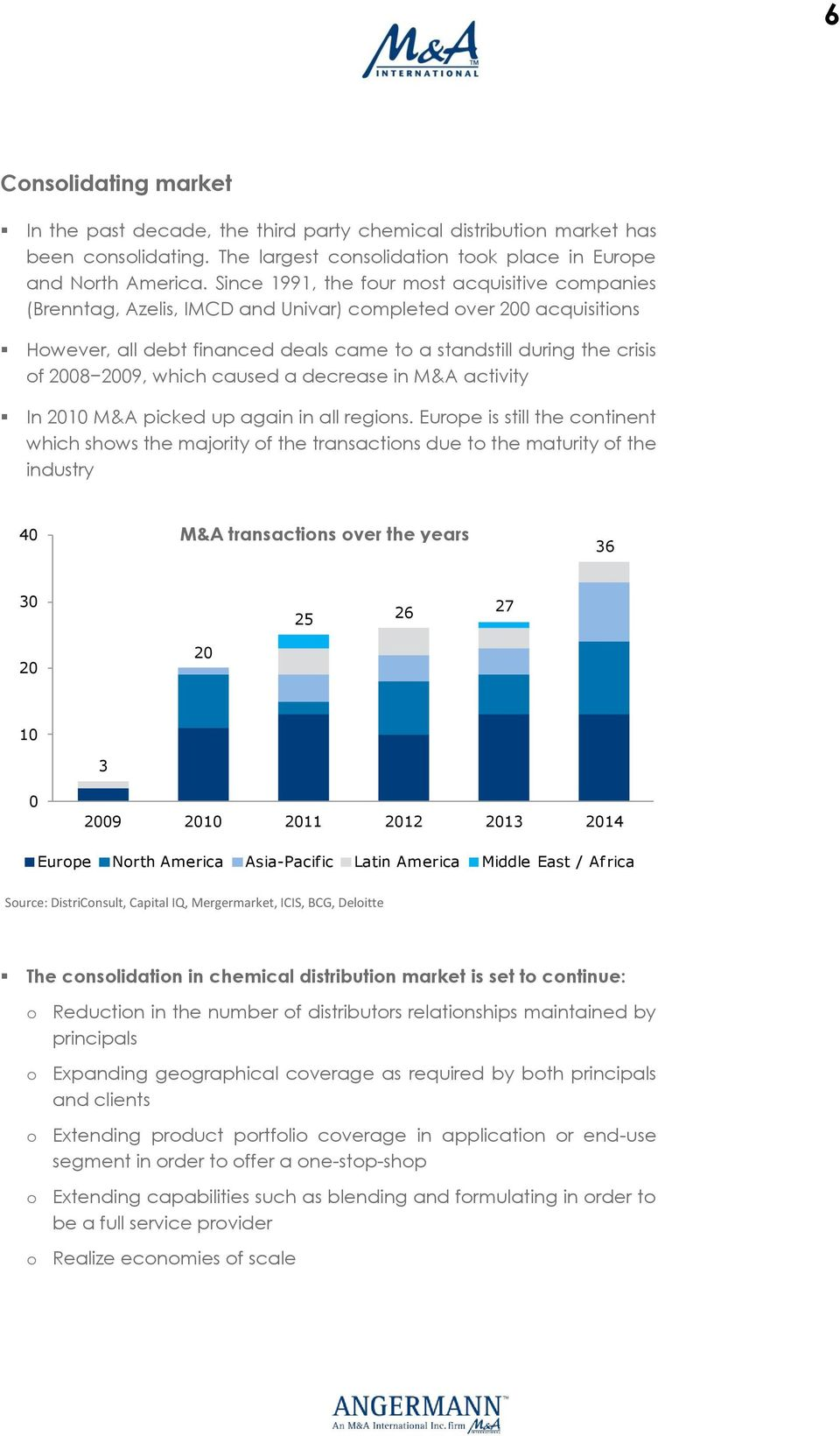 chemical distribution in europe According to a new report global chemical distribution market (by type, by region): trends, opportunities and forecasts (2016-2021), rising demand of chemical distribution driven by the surging.