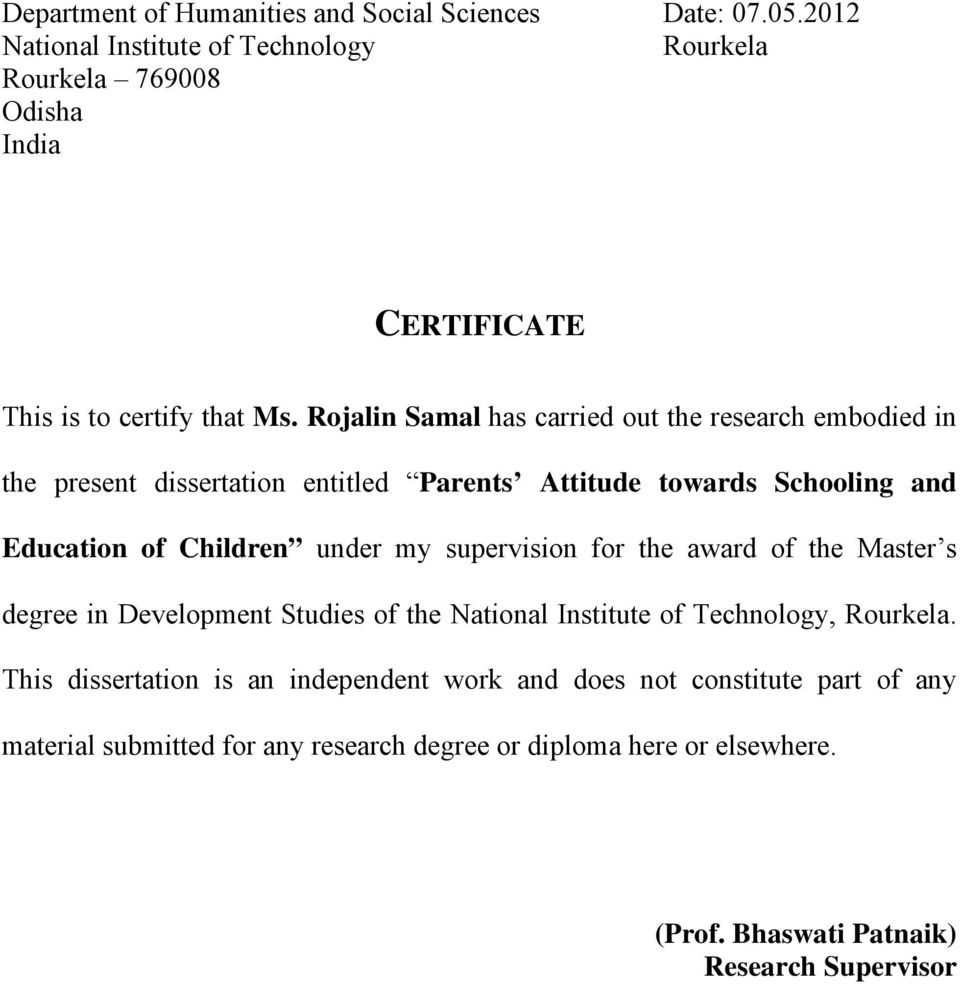 Writing phd thesis nit rourkela