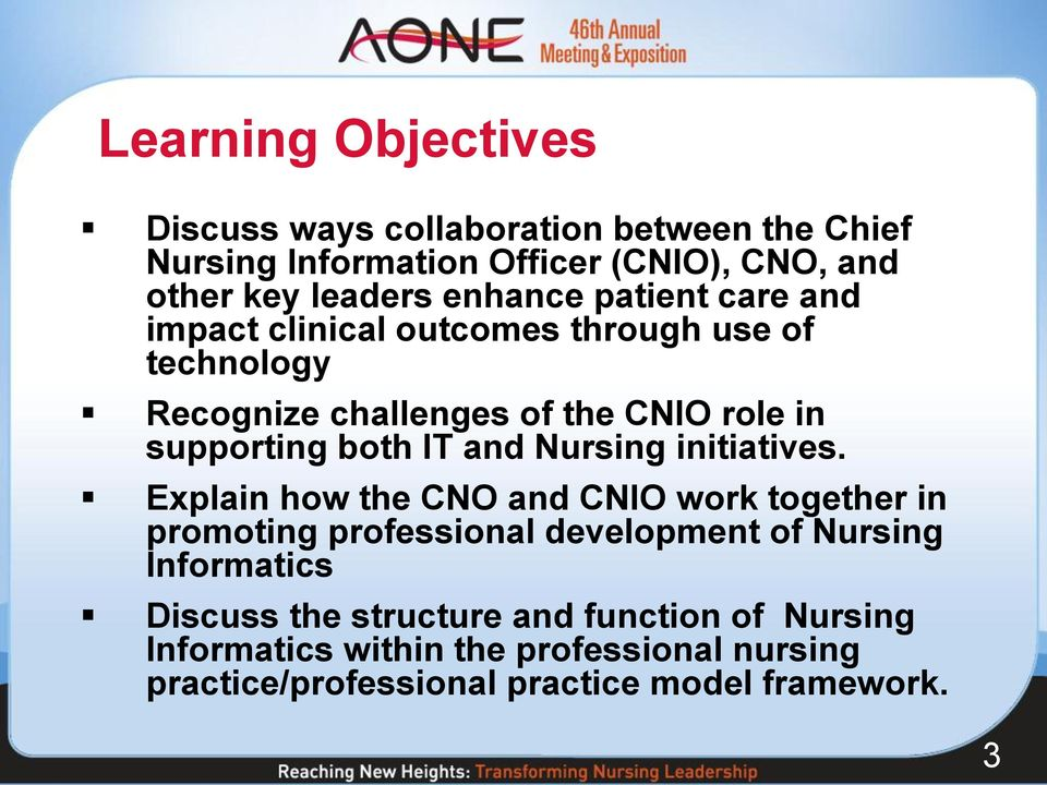 IT and Nursing initiatives.