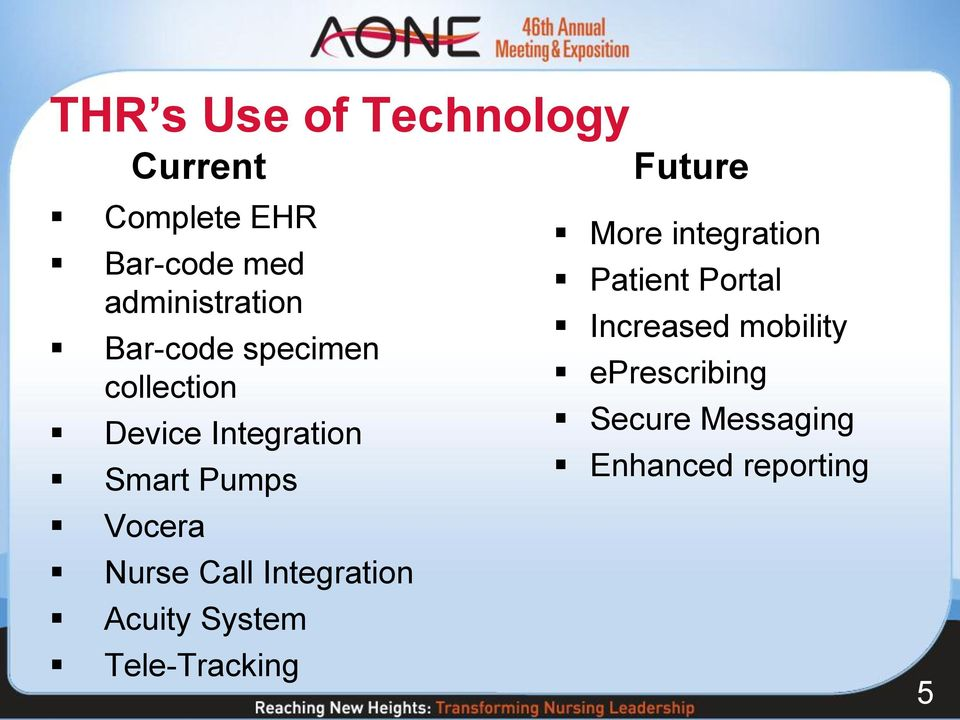 Call Integration Acuity System Tele-Tracking Future More integration