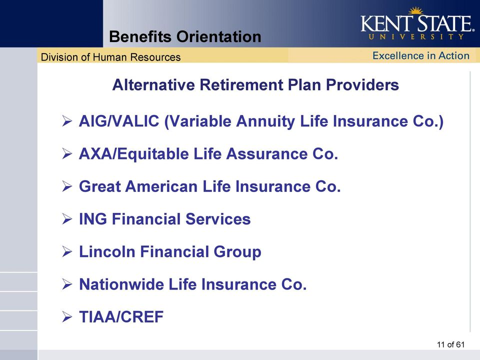 Great American Life Insurance Co.