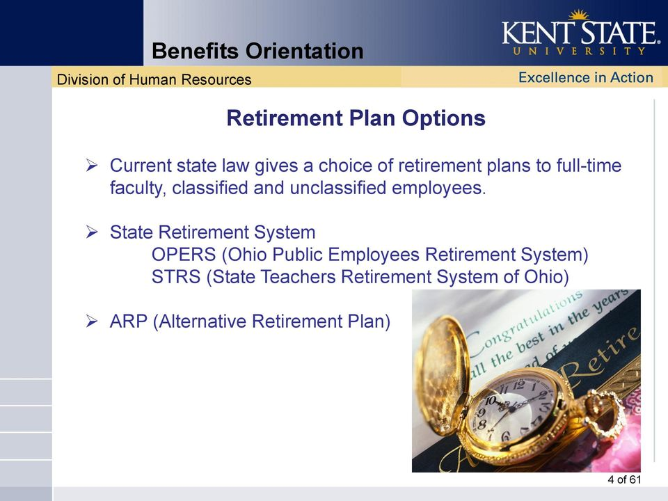 State Retirement System OPERS (Ohio Public Employees Retirement System)