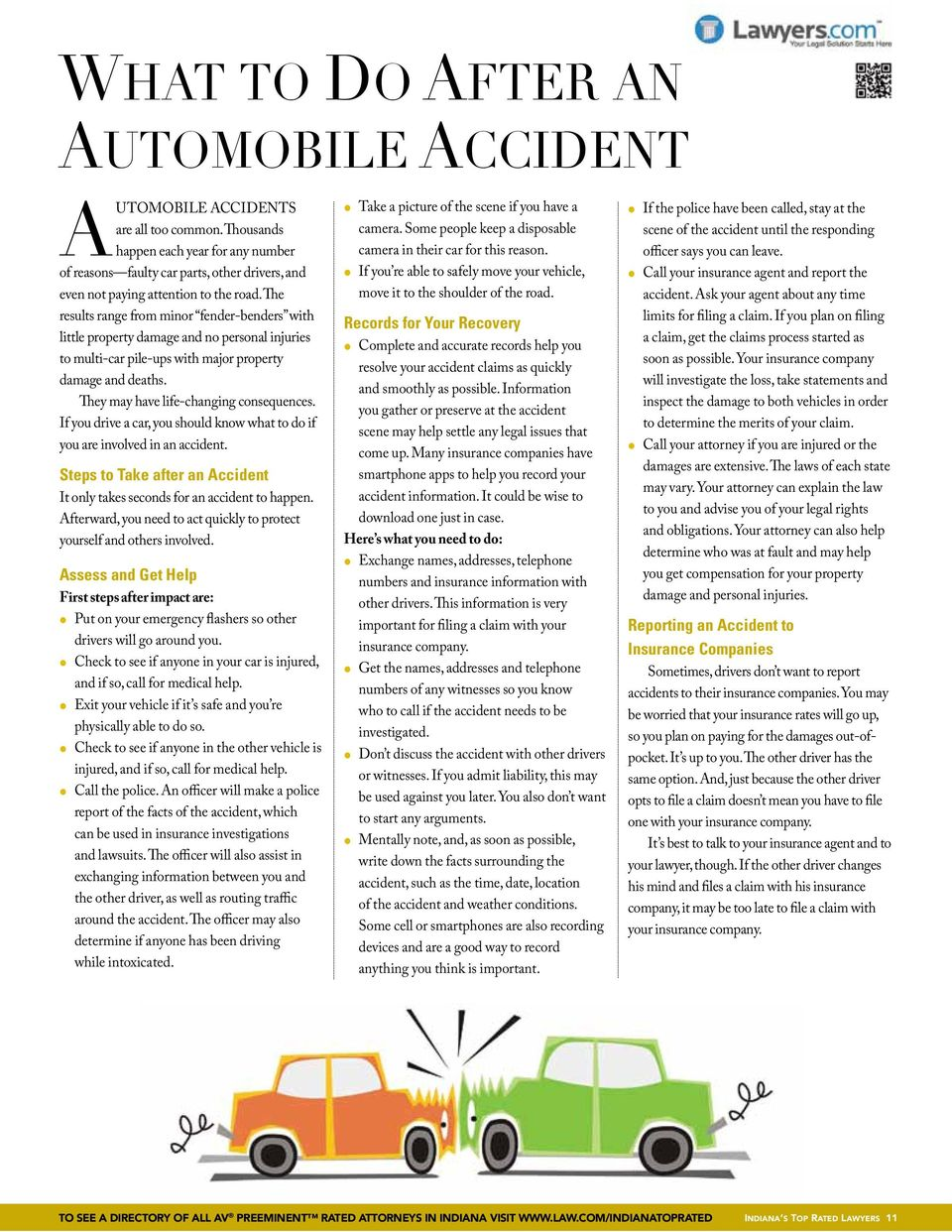 The results range from minor fender-benders with little property damage and no personal injuries to multi-car pile-ups with major property damage and deaths. They may have life-changing consequences.