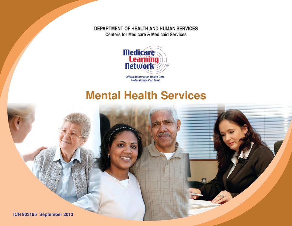 Medicaid Services Mental Health