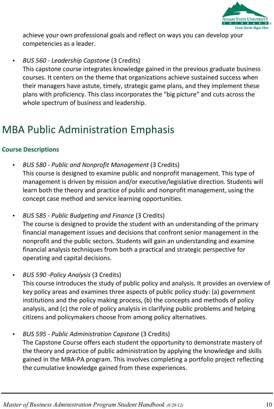 It centers on the theme that organizations achieve sustained success when their managers have astute, timely, strategic game plans, and they implement these plans with proficiency.