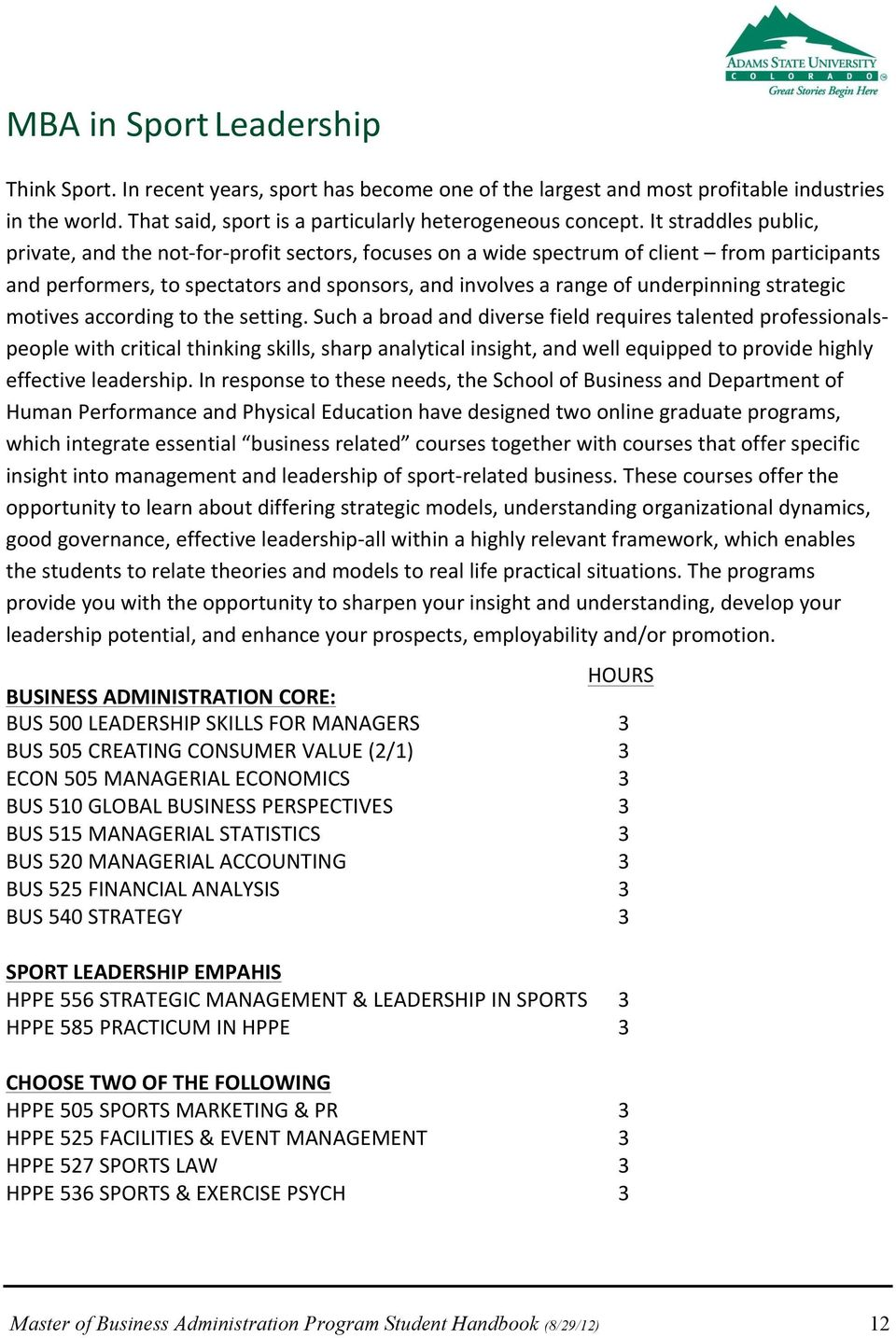 strategic motives according to the setting.