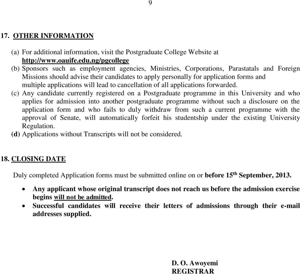 Application Letter Cancellation Admission College college – College Application Letter