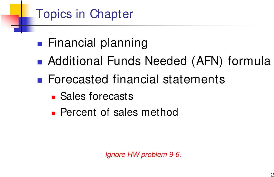 Oracle Planning and Profitability Products