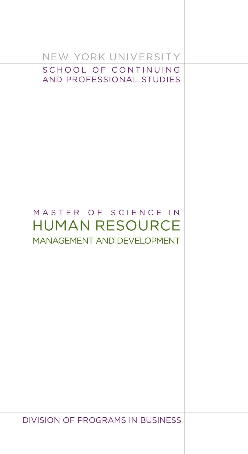 SCIENCE IN HUMAN RESOURCE MANAGEMENT AND