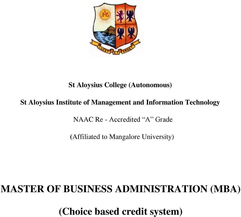 Accredited A Grade (Affiliated to Mangalore University)