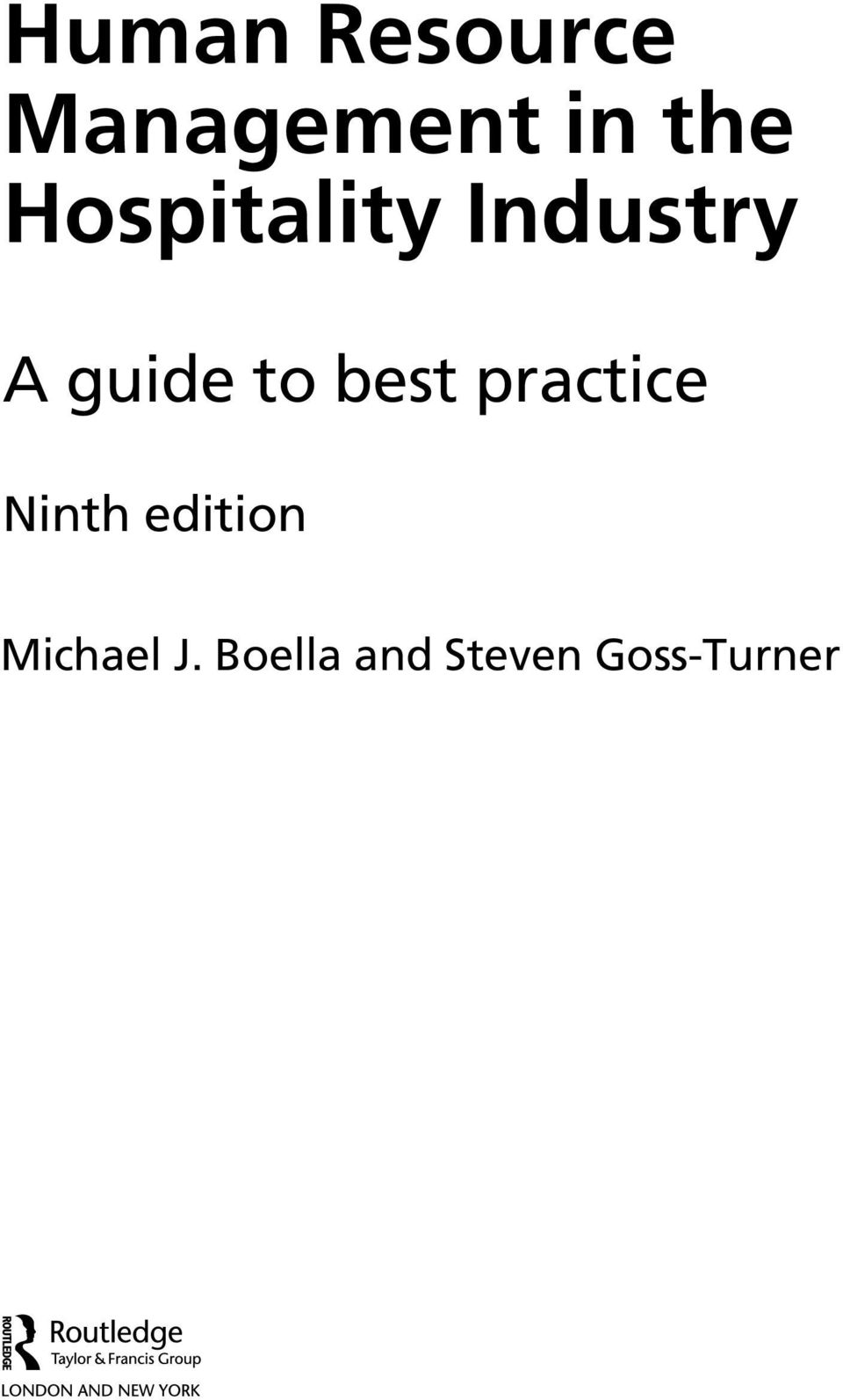 best practice Ninth edition