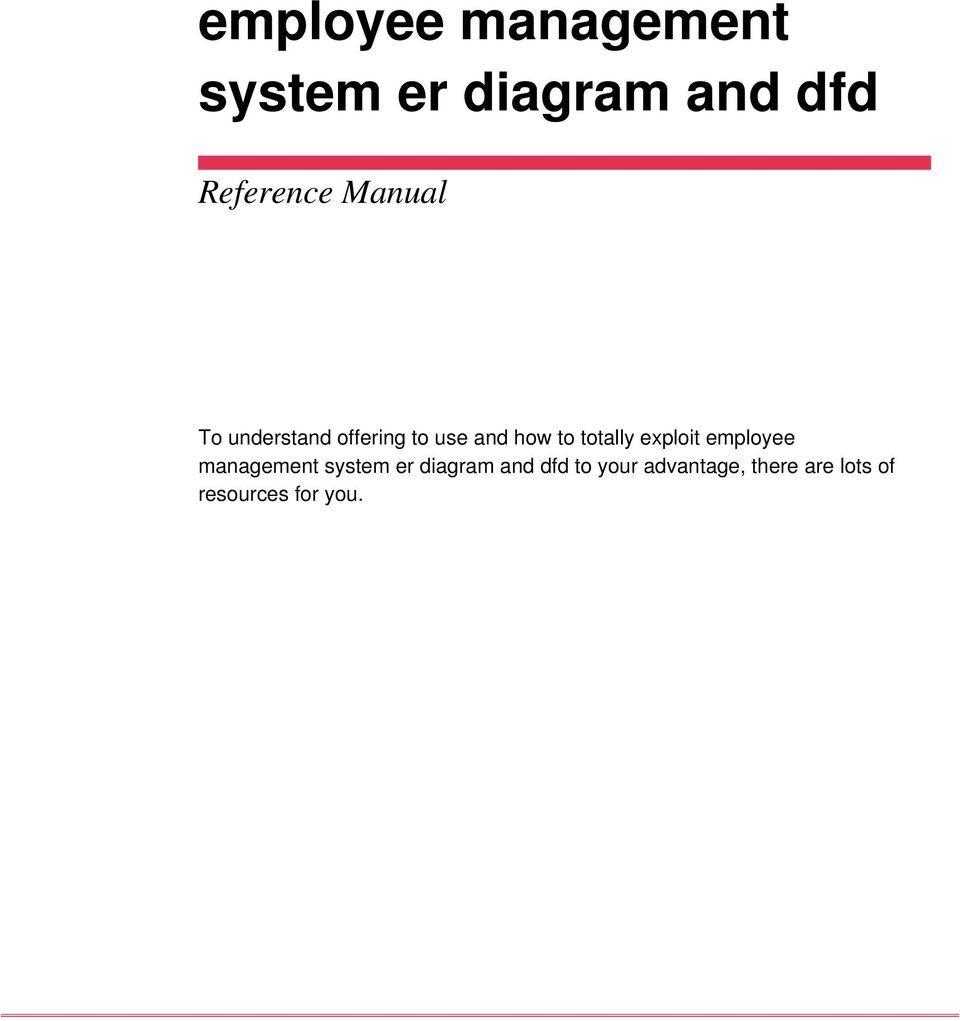 Employee management system er diagram and dfd pdf exploit employee management system er diagram and dfd ccuart Gallery