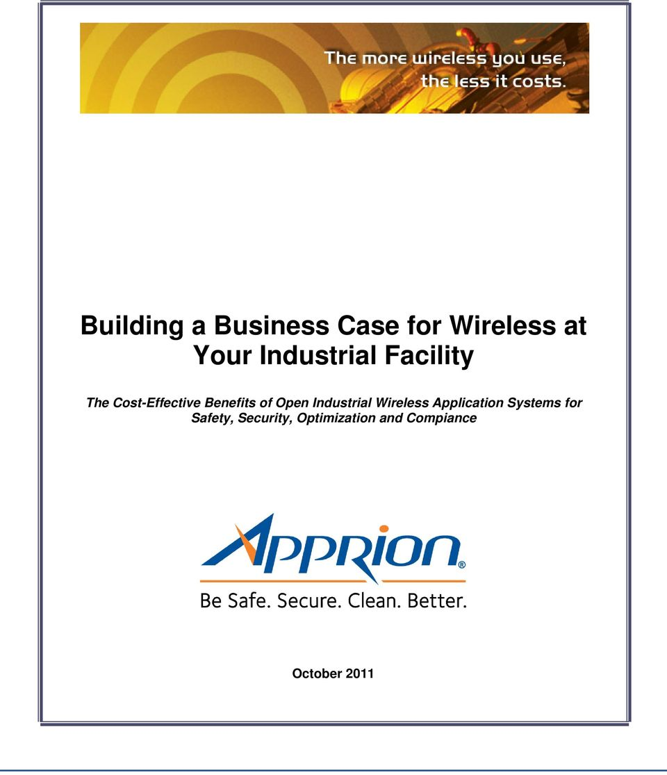 Industrial Wireless Application Systems