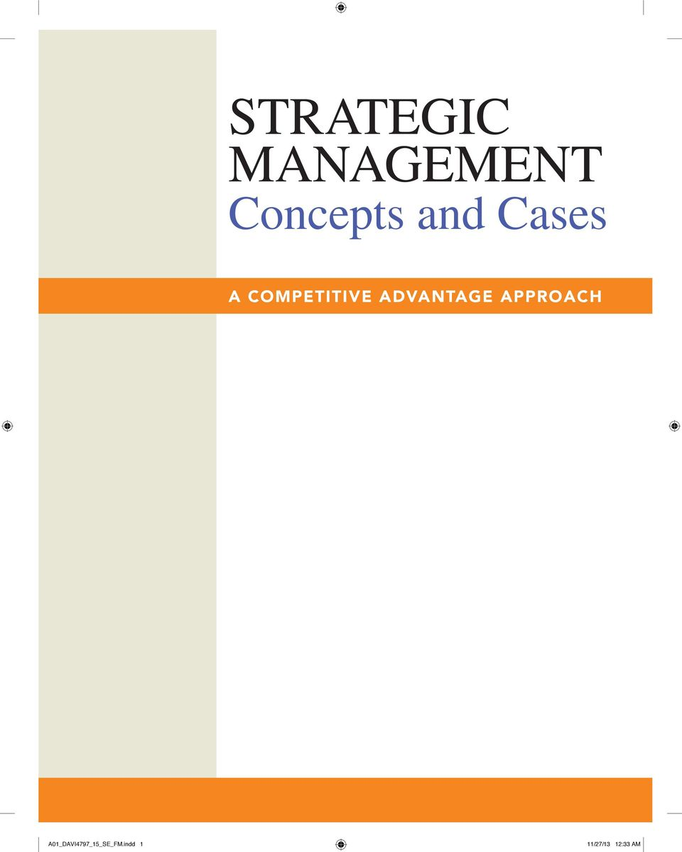 pages strategic management The journal of international management is devoted to advancing an understanding of issues in the  a strategic perspective of cross-listing by.