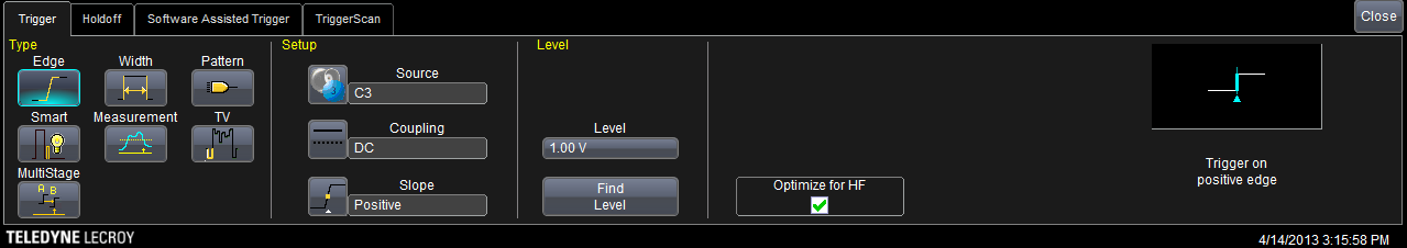 Figure 3.2: Spectrogram of the original trace (sim80_2.5g_2.