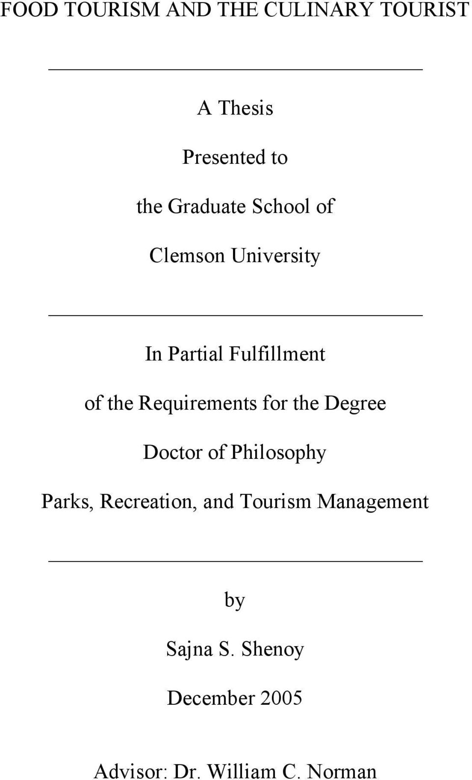 thesis for degree of doctor of philosophy Doctor of philosophy  doctor of clinical  in support of candidature for their chosen degree a thesis will present the students research.