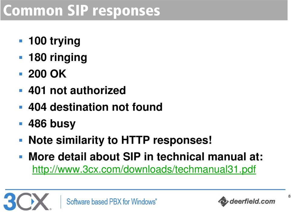 similarity to HTTP responses!