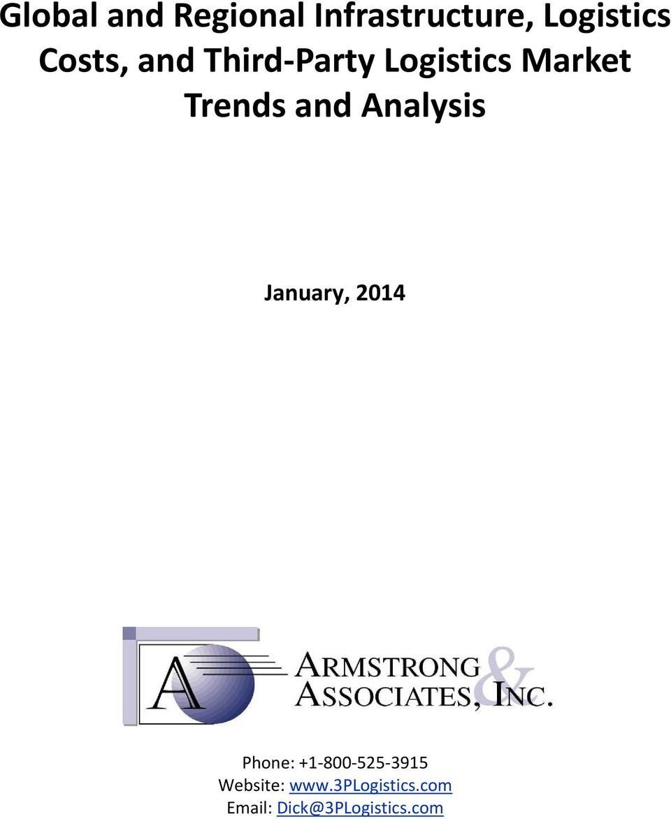 and Analysis January, 2014 Phone: +1 800 525 3915
