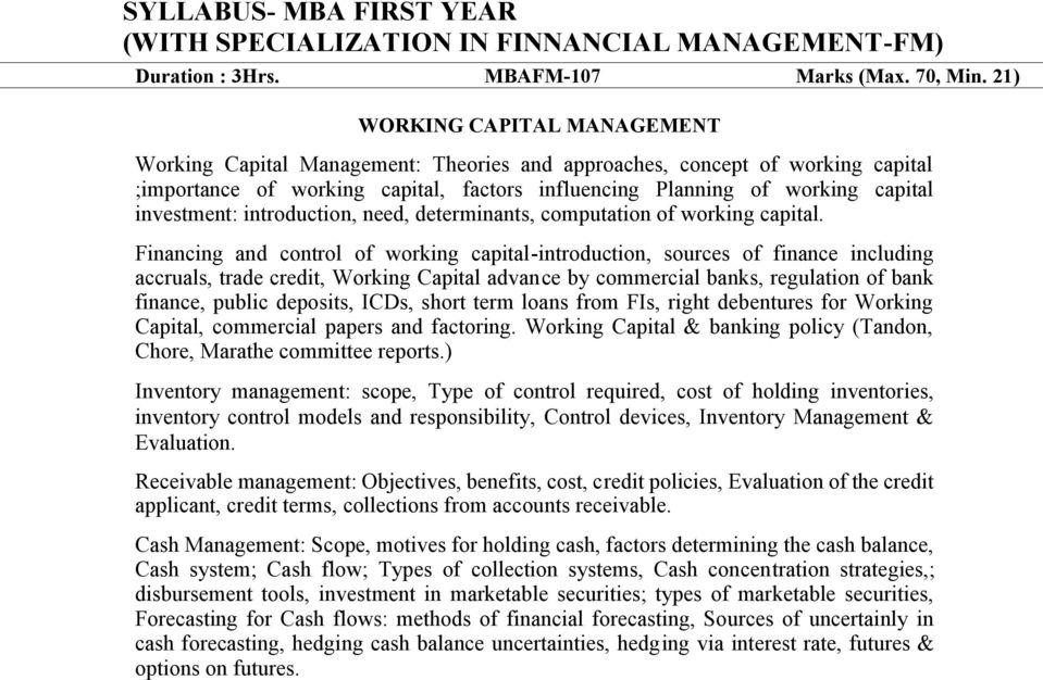 investment: introduction, need, determinants, computation of working capital.