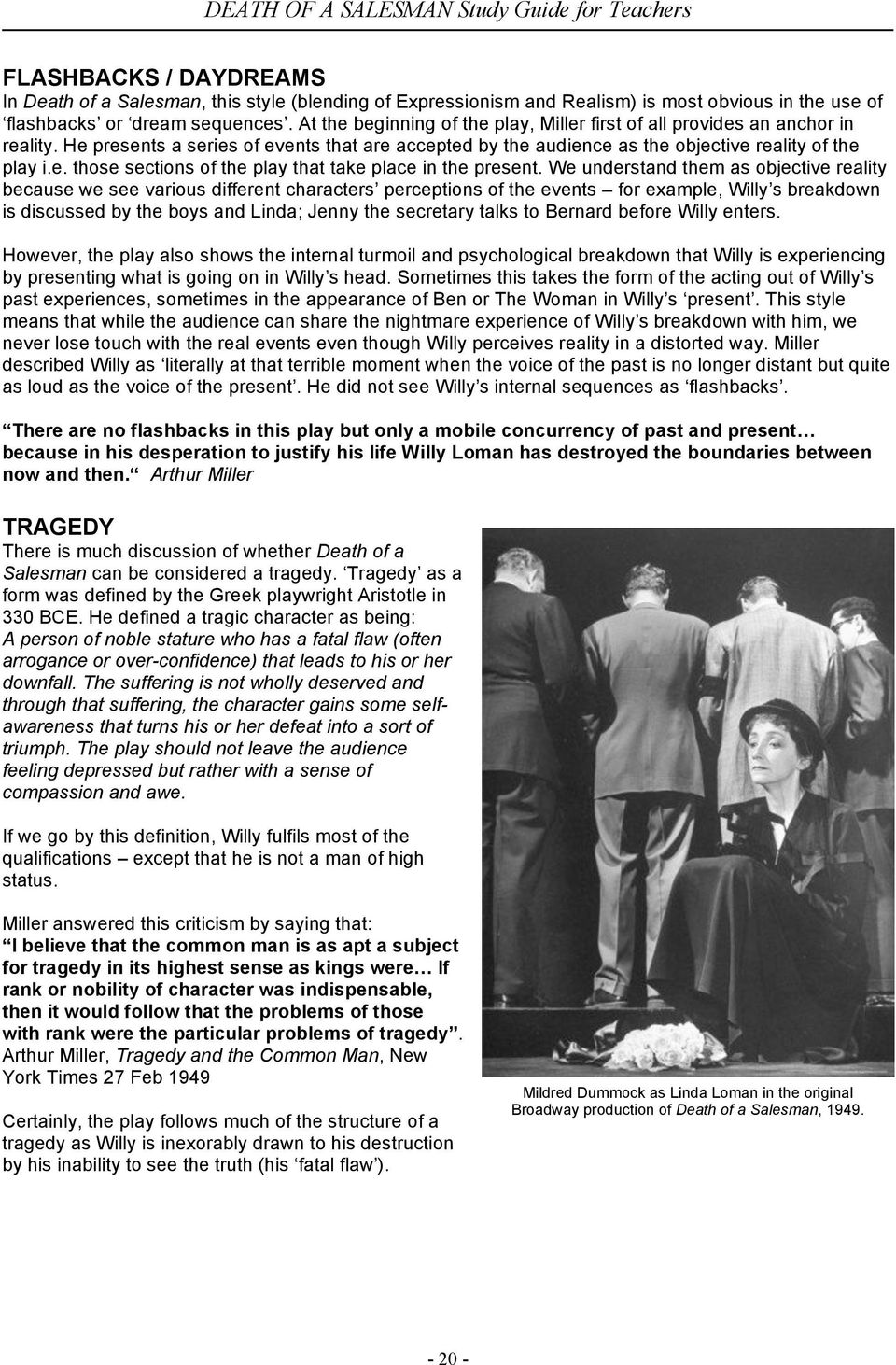 death salesman theme essay Essays and criticism on arthur miller's death of a salesman - analysis.
