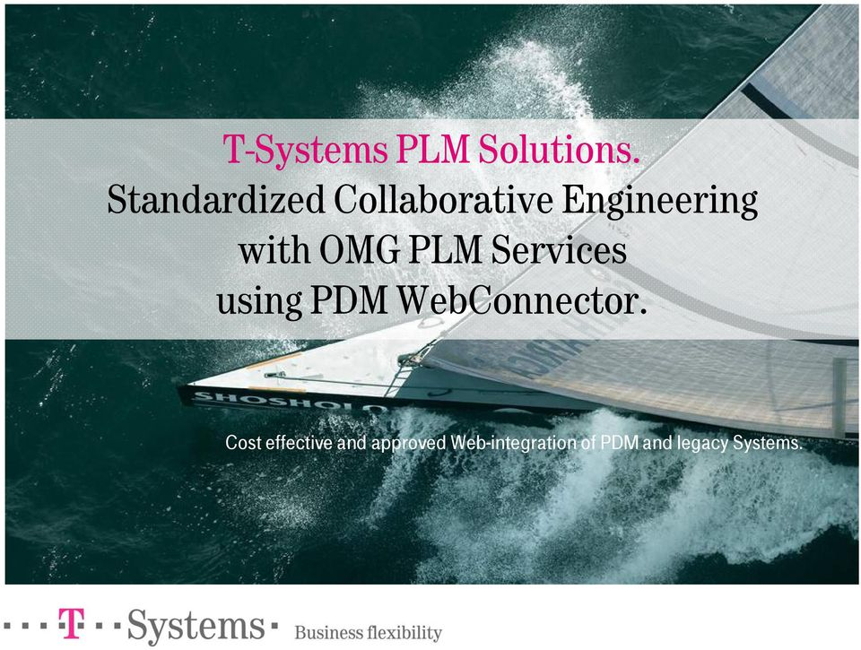 OMG PLM Services using PDM WebConnector.