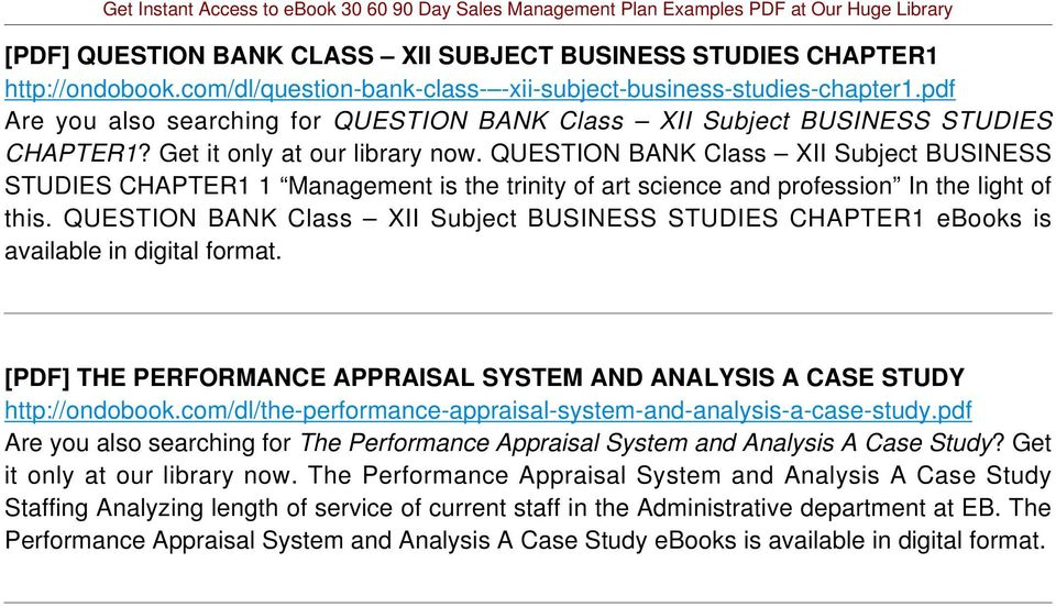 QUESTION BANK Class XII Subject BUSINESS STUDIES CHAPTER1 1 Management is the trinity of art science and profession In the light of this.