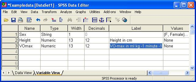 Finer Points SPSS is a powerful program with many features.
