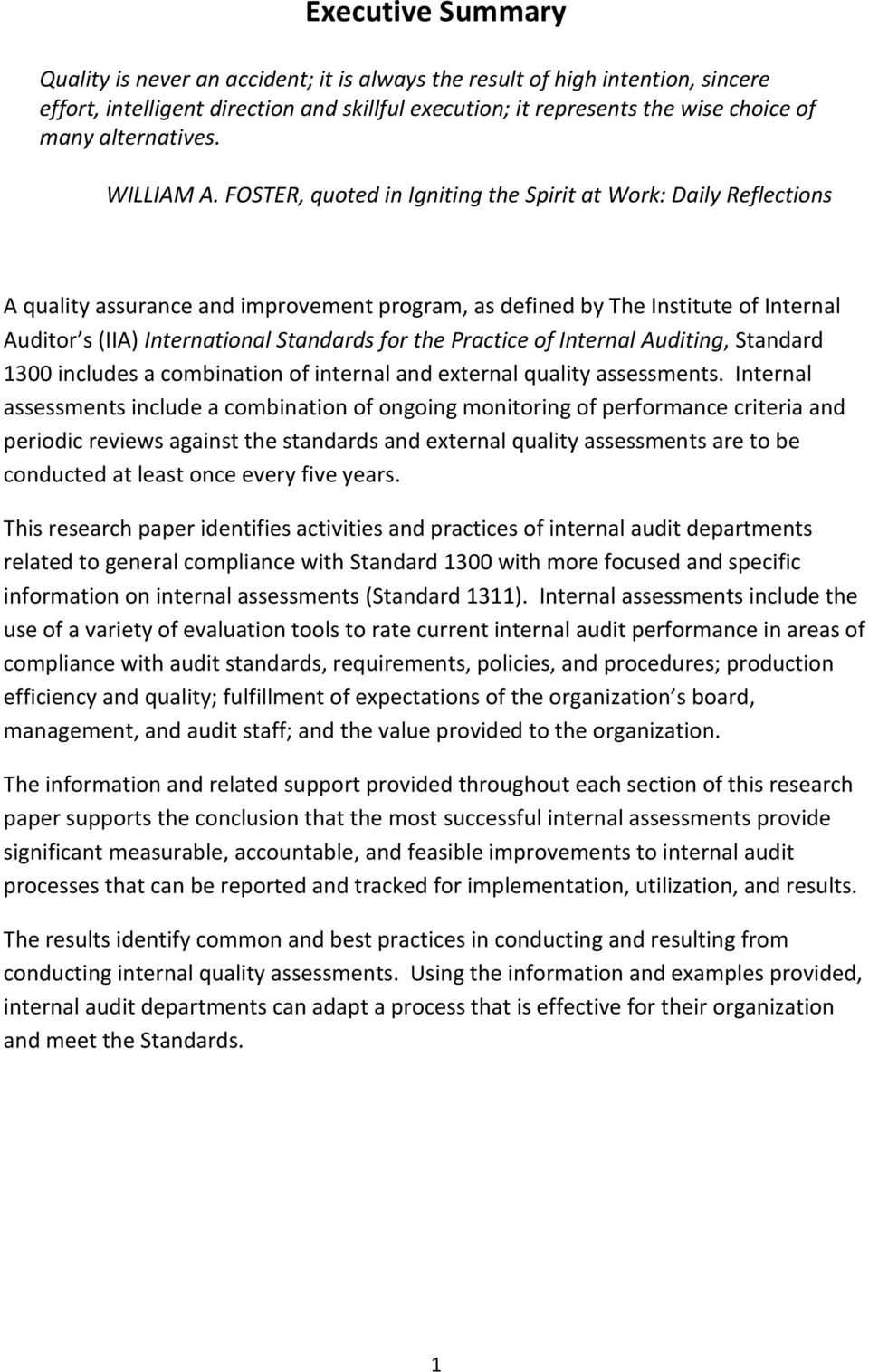 auditing reflection From a reflective audit of assessment feedback practices emerges a framework for 'paving the way for feedback (2008) full spectrum of sotl activity to include a reflection on personal philosophy and on practice.